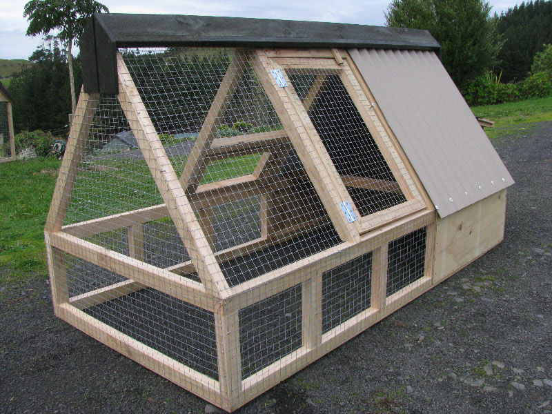 Picture of a hen house